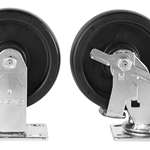 MODEL 695 6IN CASTER SET WITH BRAKES-2