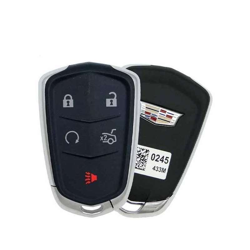 Smart Key Fob with Keyless Entry/Trunk/Panic/Remot