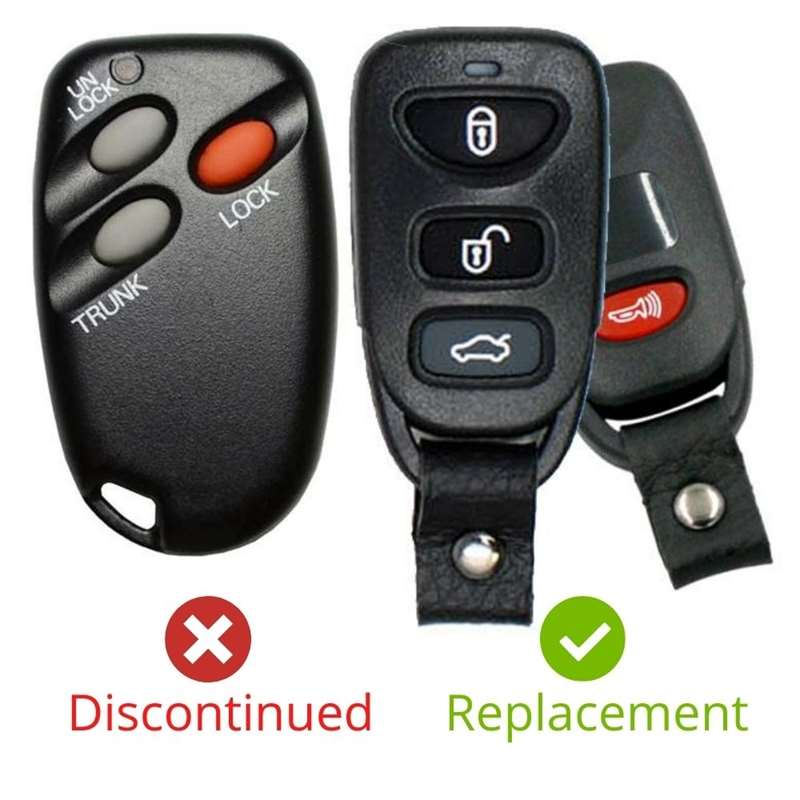Replacement Remote GQ43VT6T