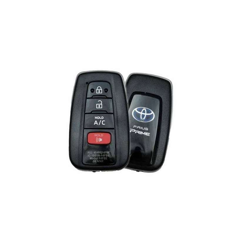 Smart Key Fob with Keyless Entry/Panic/A/C