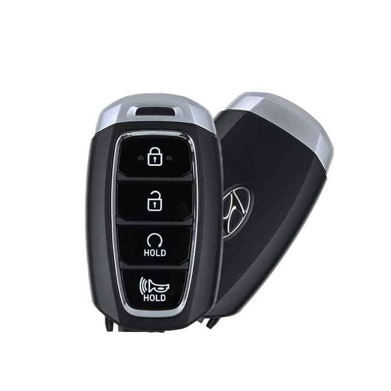 Smart Key Fob with Keyless Entry/Panic/Remote Star