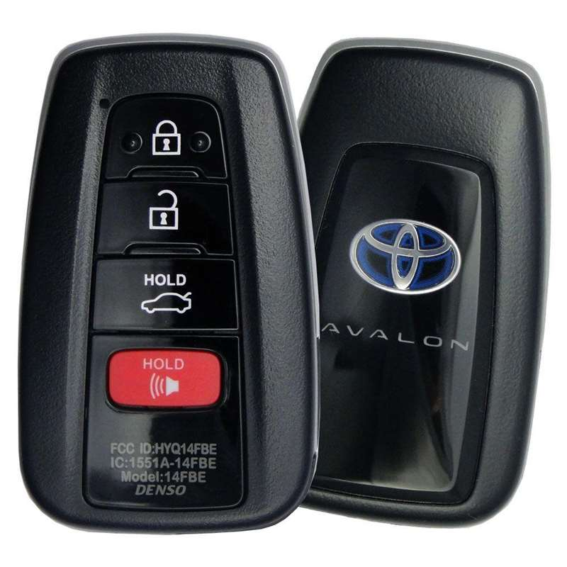 Smart Key Fob with Keyless Entry/Panic/Trunk