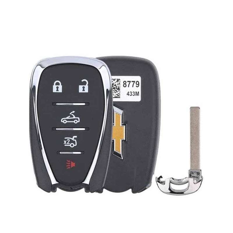 Smart Key Fob with Keyless Entry/Panic/Trunk/Drop