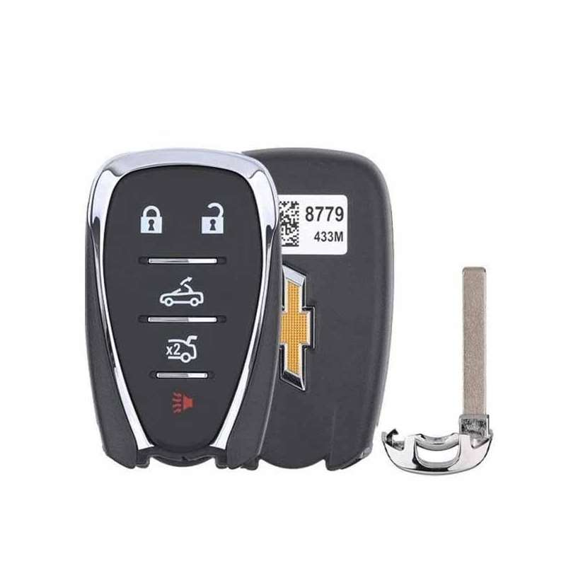 Smart Key Fob with Keyless Entry/Trunk/Panic/Drop
