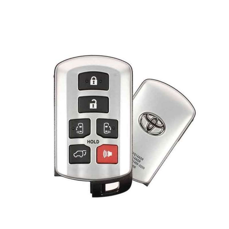 Smart Key Fob with Keyless Entry/Panic/Hatch/Left