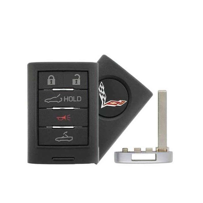 Smart Key Fob with Keyless Entry/Panic/Drop Top/Tr