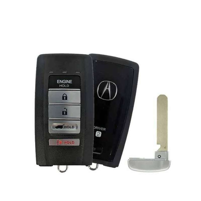 Smart Key Fob with Keyless Entry/Hatch/Panic/Engin